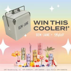 We're sending off @findgemjane and @hifihops from the Hangar with 2 lucky winners! Beat the heat with these custom coolers for our favorite summer sips. To win: ✨ Must be following @airfieldsupply + @findgemjane + @hifihops ✨ Save this post (click the