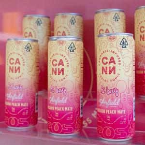 Carbonated, caffeinated & cannabis-infused. @drinkcann Peach Passion Mate will have you feeling peachy!