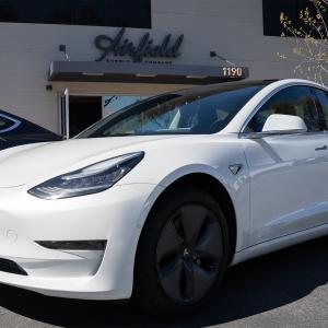 No, this isn't an Elon Puff ad. Just a reminder that our Tesla delivery fleet is ready at your service!